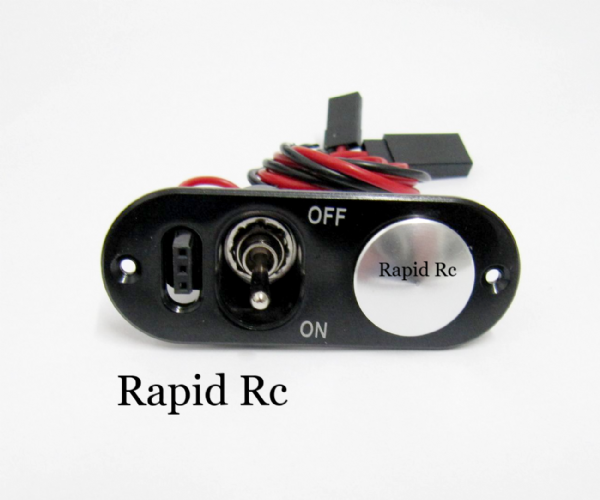 RX Switch with Charge/Voltage Check Port and Fuel Filler